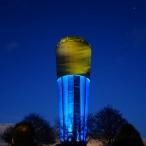 dsc00009 /Wasserturm Altdorf Lichtinstallation