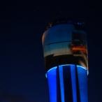 dsc00022 / Wasserturm Altdorf Lichtinstallation