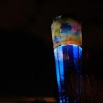 dsc00038 / Wasserturm Altdorf Lichtinstallation