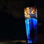 dsc00042 / Wasserturm Altdorf Lichtinstallation