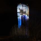 dsc00046 / Wasserturm Altdorf Lichtinstallation