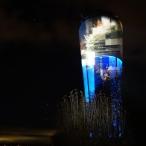 dsc00050 / Wasserturm Altdorf Lichtinstallation
